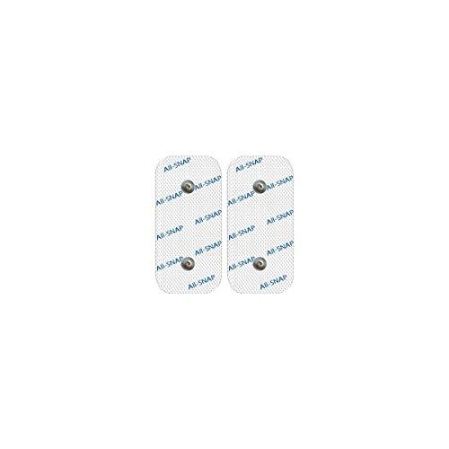 2Elettrodi all-snap (2x 5* 10cm Dual Snap), garantito 100{d392c8bdc12b34de1f0c4f29724fd7314147f99a0bd4a11288d1b398b2ea4392} compatibili Beurer® (Em 40/EM 41/EM 41.1/EM 49/EM 80) e Sanitas® (sem 40/41/42/43/44)
