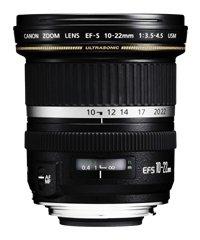 Canon EF-S 10-22mm f/3.5-4.5 - Objetivo (SLR, 13/10, Super amplia, USM, 8,35 cm, 7,7 cm)