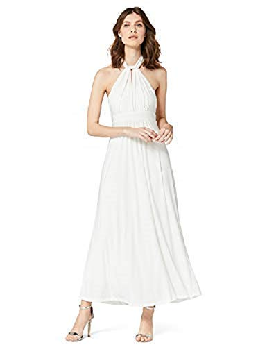 f15bf1aee0b TRUTH & FABLE Multiway Maxi Wedding Dresses, White (Ivory), 8 (Manufacturer