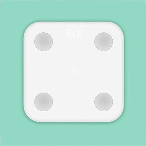 WEIWEITOE-ES XiaoMi Mi Escala de Grasa Inteligente Hogar Adulto Pérdida de Peso Humano Escala electrónica Peso Corporal Peso Corporal,