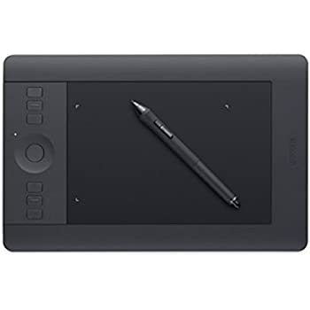 Wacom Intuos PRO Small Tavoletta Grafica da Disegno Digitale con Penna Creativa 4K, Compatibile con Windows & Mac, Kit Wireless Incluso, Nero