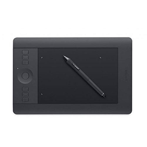 WACOM Intuos PRO Small in Nero / Tavoletta Grafica da Disegno Digitale con Penna Creativa 4K / Compatibile con Windows & Mac / kit wireless incluso