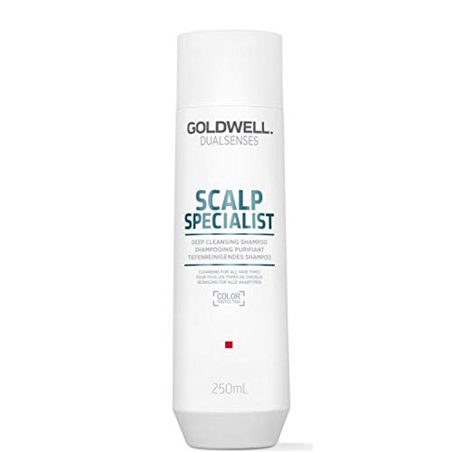 Goldwell - Dualsenses Scalp Specialist Deep Cleansing Shampoo, 1er Pack (1 X 250 ML)