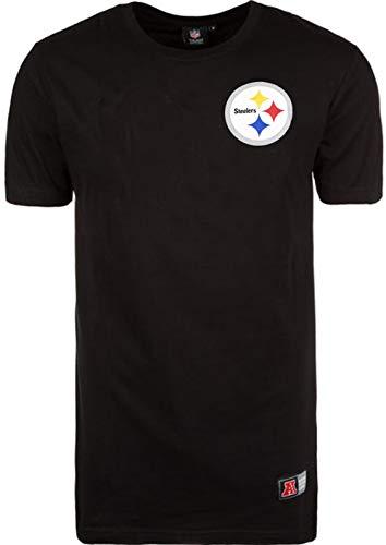 Pittsburgh Steelers Longline T-Shirt, schwarz, S ()