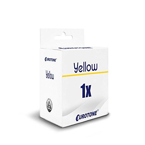 Galleria fotografica 1x Eurotone Cartuccia d'inchiostro per Canon imagePROGRAF IPF 510 605 610 655 750 755 760 765 MFP L plus sostituisce PFI-102Y PFI102Y Giallo