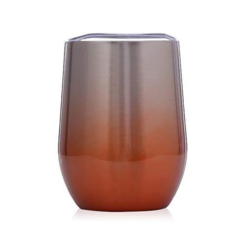 f Swig Eierschale Tasse kalt Vakuum isoliert Edelstahl Weinglas 12oz Bierkrug ()
