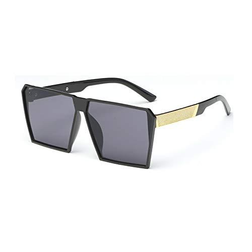 CCMOO 2018 neue Herren Sonnenbrille Platz großen Rahmen Sonnenbrille bunte Hipster Quecksilber Sonnenbrille Super große sunglases-1 (Hipster-sunglases)