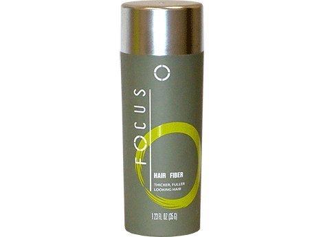 Mittel zur Verdeckung von Haarausfall von Focus. Haarbildende Fasern aus reinem Keratin verdecken dünner werdendes Haar und kahle Stellen bei Männern / Frauen, 35 Gramm/1.225 Unzen pro Flasche (107 Tage Versorgung). 8 Farben zur Auswahl (Schwarz)