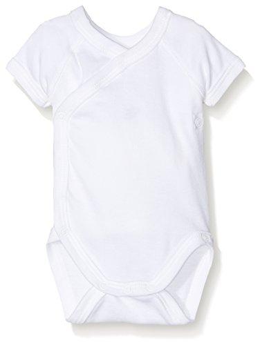 Petit Bateau 15090, Body Mixte Bébé, Blanc (Special Lot 00), 0-3 mois (Taille Fabricant: N46) Lot de 2