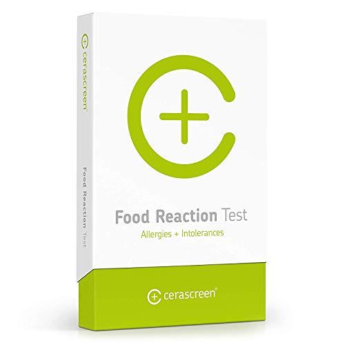 Lebensmittel-Reaktionstest von CERASCREEN - Nahrungsmittelallergien und Nahrungsmittelunverträglichkeiten schnell & einfach selbst testen I Zertifiziertes Labor I Detaillierter Ergebnisbericht