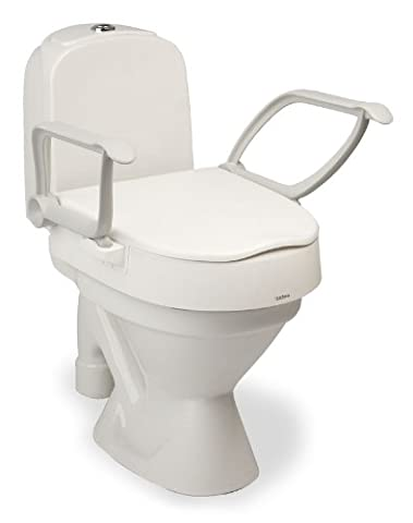 Toilettensitzerhöhung Etac Cloo 2 mit abnehmbaren Armlehnen