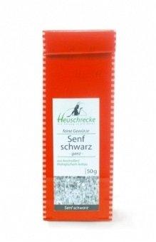 Heuschrecke Bio Senfsaat schwarz (ganz), 50 g (Heuschrecken Schwarze)