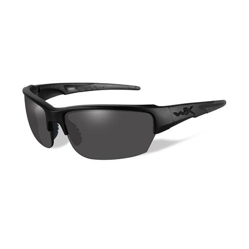 Wiley X Valor Sunglasses, Bronze Flash, Gloss Black by Wiley X