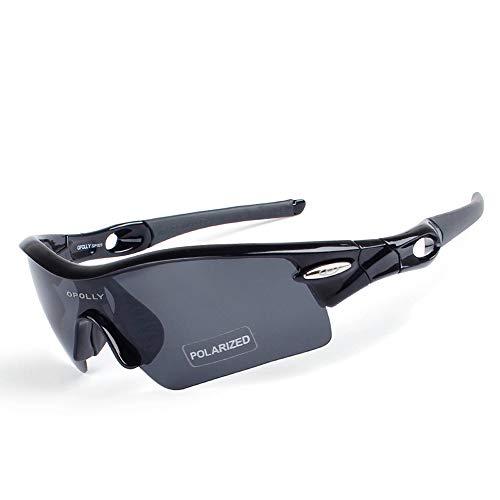 AIQIXING Ciclismo Color Espejo-Gafas polarizadas Aire