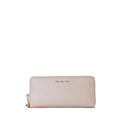 Brieftaschen Michael Kors Damen Leder Rosa und Gold 32S5GTVE9LSOFTPINK Rosa 2.5x10x21 cm