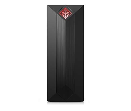 HP Omen Obelisk 875-0024ns - Ordenador de sobremesa gaming (Intel Core i7-8700, 8 GB RAM, 128 GB SSD y 1 TB HDD, nVidia GeForce GTX1050Ti-4GB, Sin sistema operativo), color negro