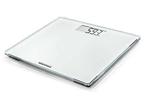 Soehnle Style Sense Compact 200 Personen Digitalwaage, in kompakter Größe, mit gut lesbarer LCD-Anzeige, im extraflachen Design