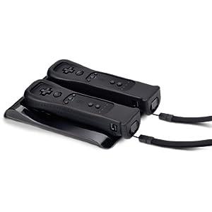 Speedlink Zone Ladestation für bis zu zwei Wiimote gleichzeitig Wii/Wii U (Induktion, Akkus beiliegend)