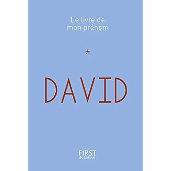 14 Le Livre de mon prénom - David