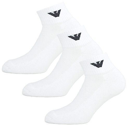 emporio-armani-socken-3er-pack-knit-socks-sneaker-unisex-einfarbig-farbauswahl-farbe-weiss-grosse-42