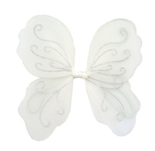 eenflügel für Verkleidung und Spiel (Weiße Feenflügel)