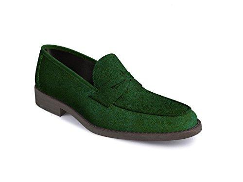 DIS - Uliassi - Mocassin Penny - Homme Vert
