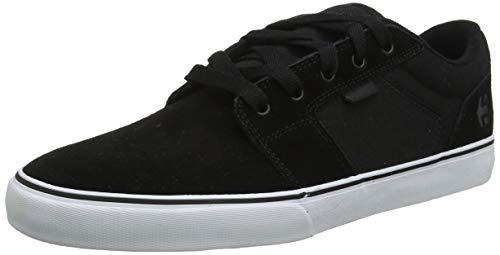 Etnies Men\'s Barge LS Skateboarding Shoes, Black (992-Black/White/Black 992), 9.5 UK 44 EU