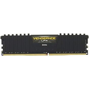 Corsair Vengeance LPX - Módulo de Memoria XMP 2.0 de Alto Rendimiento de 8 GB (1 x 8 GB, DDR4, 2400 MHz, C16), Color Negro