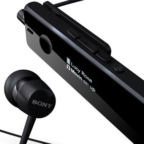 With either the supplied headphones or the built-in speaker, you can enjoy online entertainment