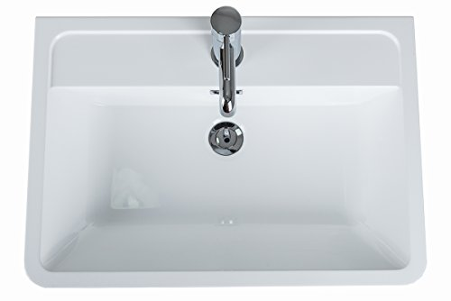 serene 600mm waschtischunterschrank mit waschbecken m. Black Bedroom Furniture Sets. Home Design Ideas