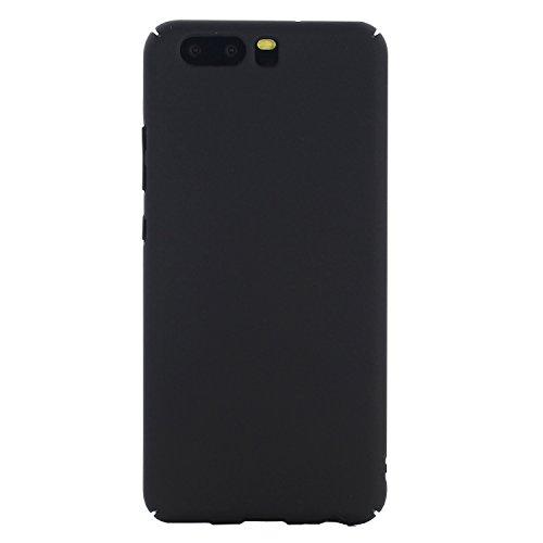 Per Huawei P10 più largomento, ultra sottile sensibilità della mano della copertura della cassa del PC di Plactic per Huawei P10 Inoltre 5.1 pollici ( Color : Gold ) Black