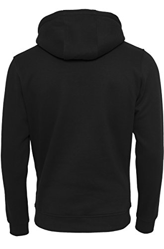 Mister Tee NASA Logo Hoodie, Kapuzenpullover für Herren in den Farben Schwarz und Weiß,Größe XS bis XL black