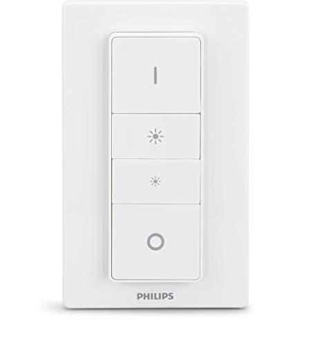 Philips Hue Wireless Dimming Schalter, komfortabel dimmen ohne Installation (Generalüberholt)