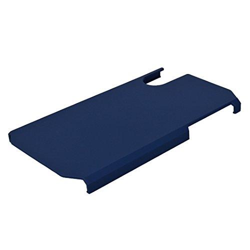 Coque Dure Pour iPhone X, Asnlove 2 in 1 Cas TPU Silicone et PC Plastique Étui Antichoc Housse Armure Cover Protection Double Couche Case Shell Pour iPhone X, Grise Bleu