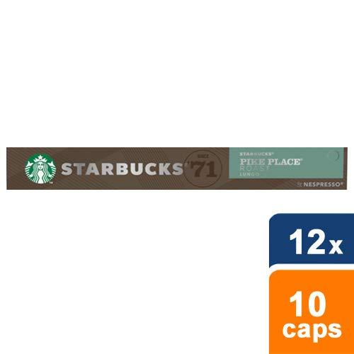 Starbucks® - Pike Place® Roast by Nespresso® Medium Roast - 12x 10 Capsules (Medium-roast-kaffee)