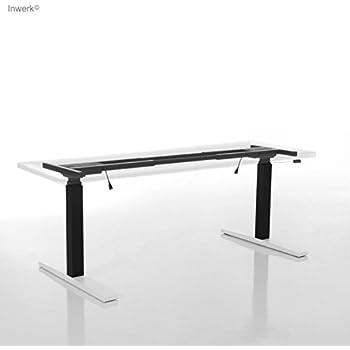 Inwerk Imperio® Lift   Schreibtischgestell elektrisch höhenverstellbar   Steh-Sitztisch Gestell   Gamer-Tisch