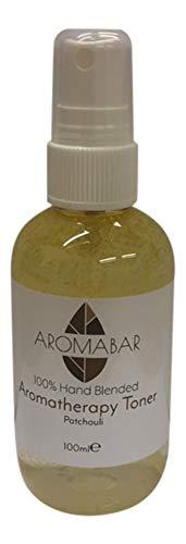 Destilliertes Hamamelis Gesichtswasser-Spray 100ml mit Patchouli pures ätherisches öl