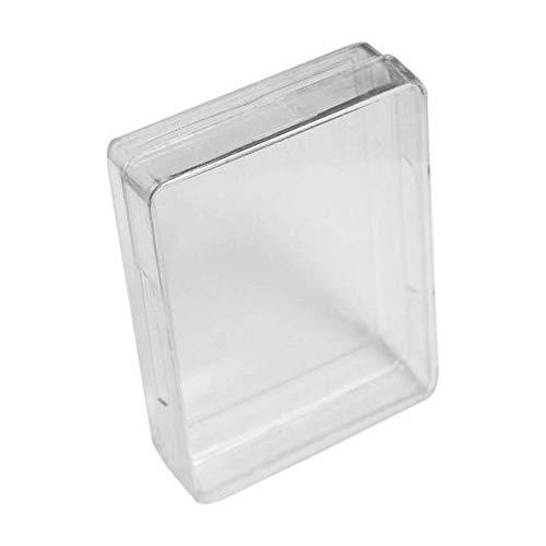Boîte de Rangement Transparente en Plastique Un Jeu de Poker