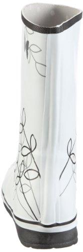 Viking Carisma Gummistiefel 1-173-250, Bottes fille Blanc/noir - V.3