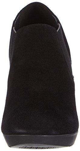 GEOX - D Inspiration, Scarpa Con Tacco da donna Nero (Black)