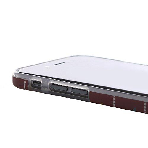 "RE:CRON® iPhone 6 (4,7"") Handycase Hülle Cover Design – Elefant Eulen"