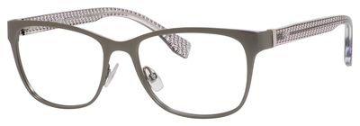 Fendi 0110 occhiali 0h1p rutenio 53-16-135 opaco