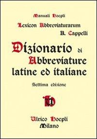 lexicon-abbreviaturarum-dizionario-di-abbreviature-latine-ed-italiane