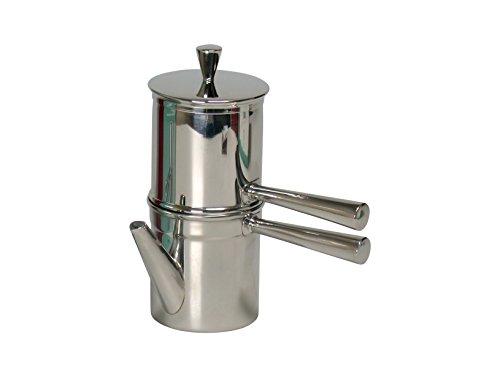 Cafetera Ilsa Napoletana, de Aluminio, para 1-2 Tazas
