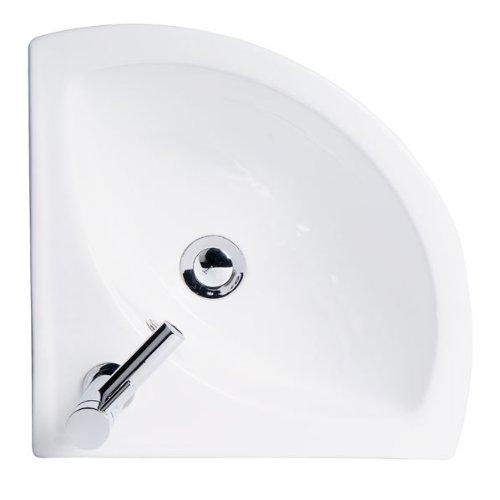 Modern Compact Corner Bathroom Hand Wash Basin ...