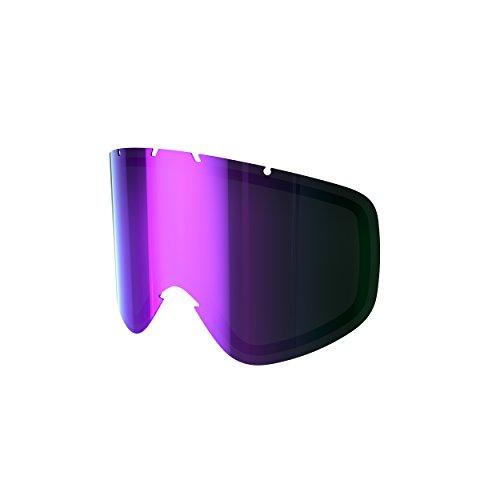 POC Iris Spare Lens Unisex Ersatzscheibe, Grey/Purple Mirror, Small - Iris Glas