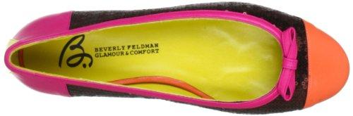 Beverly Feldman 50120-710-685, Ballerines femme Marron (Multi Brite)