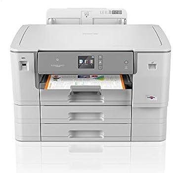 Brother HL-J6000DW - Impresora de Tinta A3 con impresión automática a Doble Cara (WiFi, NFC, conexión móvil y Cloud) Color Gris