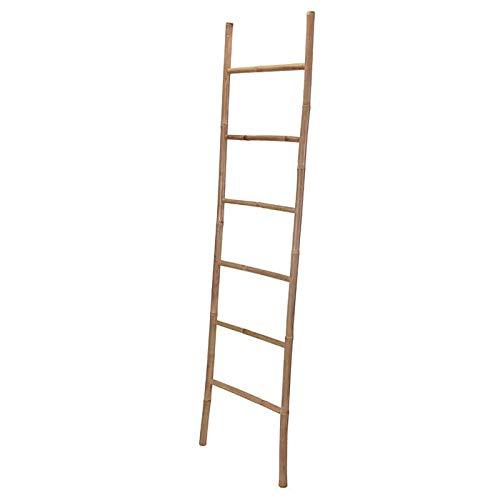 regalosMiguel - Escalera Toallero - Toallero Ban de Bambu 117 x 40 x 45cm