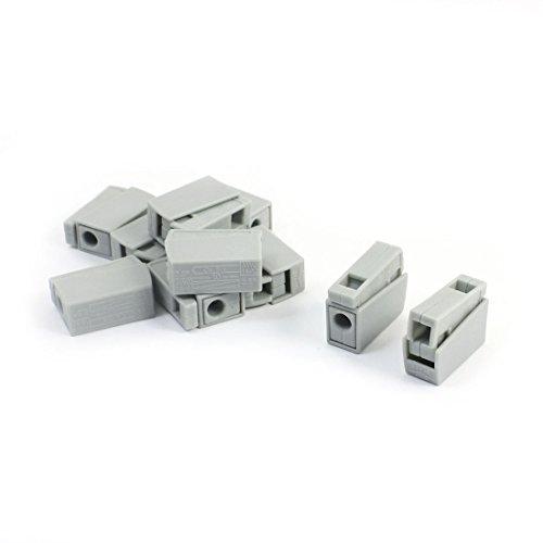 Sourcingmap® AWG 18-14 no Ruban d'isolation sans Fil avec connecteur Rapide Lot de 10